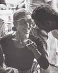 Photographs:Gelatin Silver, Ron Galella (American, b. 1931). Jackie shopping in Capri,Italy, August 24, 1970. Gelatin silver, 1974. 8 x 10 inches(... (Total: 4 Items)