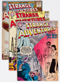Silver Age (1956-1969):Science Fiction, Strange Adventures Group of 30 (DC, 1957-73) Condition: AverageVG.... (Total: 30 Comic Books)