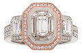 Estate Jewelry:Rings, Diamond, Colored Diamond, Gold Ring, Simon G.. ...
