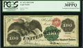 Large Size:Legal Tender Notes, Fr. 167a $100 1863 Legal Tender PCGS Very Fine 30PPQ.. ...