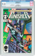 Modern Age (1980-Present):Superhero, The Punisher #1 (Marvel, 1987) CGC NM/MT 9.8 White pages....