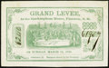 Obsoletes By State:New Hampshire, Plaistow, NH - Grand Levee, at the Rockingham House $1 Mar. 16, 1858. ...