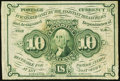 Fractional Currency:First Issue, Fr. 1243 10¢ First Issue Fine.. ...