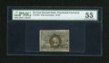 "Fractional Currency:Second Issue, Fr. 1284 25c Second Issue ""63"" only variety PMG About Uncirculated 55...."
