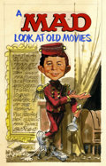 """Original Comic Art:Covers, Jack Davis - """"A Mad Look at Old Movies"""" Cover PreliminaryIllustration Original Art, Group of 2 (undated).. ... (Total: 2Items)"""