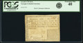 Colonial Notes:Georgia, Georgia 1776 Fractional Denominations $1/4 Fr. GA-69. PCGSExtremely Fine 40.. ...