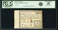 Colonial Notes:Georgia, Georgia 1776 Fractional Denominations $1/4 Fr. GA-69. PCGSExtremely Fine 40 Apparent.. ...
