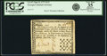 Colonial Notes:Georgia, Georgia June 8, 1777 $1/3 Fr. GA-97. PCGS Very Fine 35 Apparent.. ...
