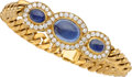 Estate Jewelry:Bracelets, Sapphire, Diamond, Gold Bracelet, Bvlgari. ...