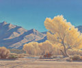 Fine Art - Painting, American:Contemporary   (1950 to present)  , Edith Anne Hamlin (American, 1902-1992). Morning on the Rillito,Arizona. Oil on canvas. 25 x 30 inches (63.5 x 76.2 cm)...