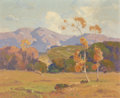 Fine Art - Painting, American:Modern  (1900 1949)  , Dana Bartlett (American, 1882-1957). California Hills, possiblyVerdugo Canyon. Oil on canvas. 20 x 24 inches (50.8 x 61...