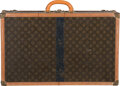 "Luxury Accessories:Travel/Trunks, Louis Vuitton Vintage Classic Monogram Canvas Hardsided Alzer 70Trunk. Good Condition. 28"" Width x 18"" Height x 9""De..."