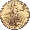 Modern Bullion Coins, 1989 $10 Quarter-Ounce Gold Eagle MS70 PCGS....