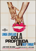 "Movie Posters:Adult, Deep Throat Part II (Arden Cinematografica, 1975). Italian 4 - Fogli (55.25"" X 77.25""). Adult.. ..."