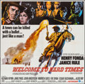 "Movie Posters:Western, Welcome to Hard Times (MGM, 1967). Six Sheet (79"" X 80"") & Three Sheet (41"" X 79""). Western.. ... (Total: 2 Items)"
