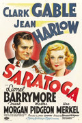 """Movie Posters:Comedy, Saratoga (MGM, 1937). One Sheet (27"""" X 41"""") Style C. ..."""