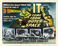 "Movie Posters:Science Fiction, It Came From Outer Space (Universal, 1953). Half Sheet (22"" X 28"")Style A...."