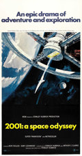 "Movie Posters:Science Fiction, 2001: A Space Odyssey (MGM, 1968). Three Sheet (41"" X 81""). ..."