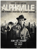 "Movie Posters:Science Fiction, Alphaville (Athos Films, 1965). French Grande (47"" X 63"")...."
