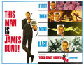 "Movie Posters:James Bond, You Only Live Twice (United Artists, 1967). Subway Advance (45"" X 59.5""). ..."