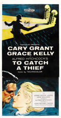 "Movie Posters:Hitchcock, To Catch a Thief (Paramount, 1955). Three Sheet (41"" X 81""). ..."