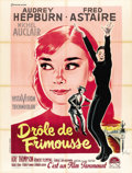 "Movie Posters:Romance, Funny Face (Paramount, 1957). French Grande (47"" X 63""). ..."