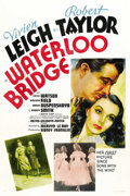 "Movie Posters:Drama, Waterloo Bridge (MGM, 1940). One Sheet (27"" X 41""). ..."