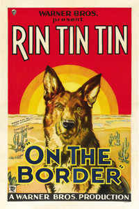"""On the Border (Warner Brothers, 1930). One Sheet (27"""" X 41"""")"""