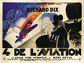 "Movie Posters:Drama, The Lost Squadron (RKO, 1932). French Four Panel (90.5"" X121.5"")...."