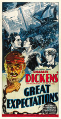 """Movie Posters:Drama, Great Expectations (Universal, 1934). Three Sheet (41"""" X 81""""). ..."""