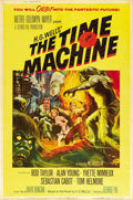 "Movie Posters:Science Fiction, The Time Machine (MGM, 1960). Poster (40"" X 60"") Style Y. ..."