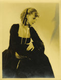 "Movie Posters:Miscellaneous, Hollywood Vintage Still - Greta Garbo by George Hurrell (MGM, Circa1930). Still (9.5"" X 13""). ..."