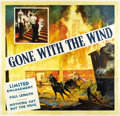 "Movie Posters:Academy Award Winner, Gone with the Wind (MGM, 1939). Six Sheet (81"" X 81""). ..."