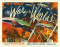 "Movie Posters:Science Fiction, The War of the Worlds (Paramount, 1953). Half Sheet (22"" X 28"")Style B. ..."