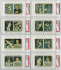 Baseball Cards:Sets, 1951 Berk Ross Panel High Grade Panel Set (36). Offered is a rarely seen High Grade 1951 Berk Ross Panel set. A very difficu...