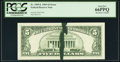 Error Notes:Ink Smears, Fr. 1969-L $5 1969 Federal Reserve Note. PCGS Gem New 66PPQ.. ...