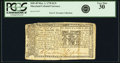 Colonial Notes:Maryland, Maryland March 1, 1770 $1/9 Fr. MD-49. PCGS Very Fine 30.. ...