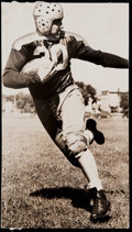 Football Collectibles:Photos, 1937 Clark Hinkle Original Green Bay Packers Photograph....