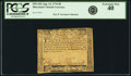 Colonial Notes:Maryland, Maryland August 14, 1776 $8 Fr. MD-102. PCGS Extremely Fine 40.....