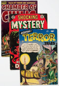Golden Age (1938-1955):Horror, Comic Books - Assorted Golden Age Horror Comics Group of 5 (VariousPublishers, 1950s) Condition: Average VG.... (Total: 5 Comic Books)