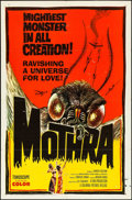 """Movie Posters:Science Fiction, Mothra (Columbia, 1962). One Sheet (27"""" X 41""""). Science Fiction....."""