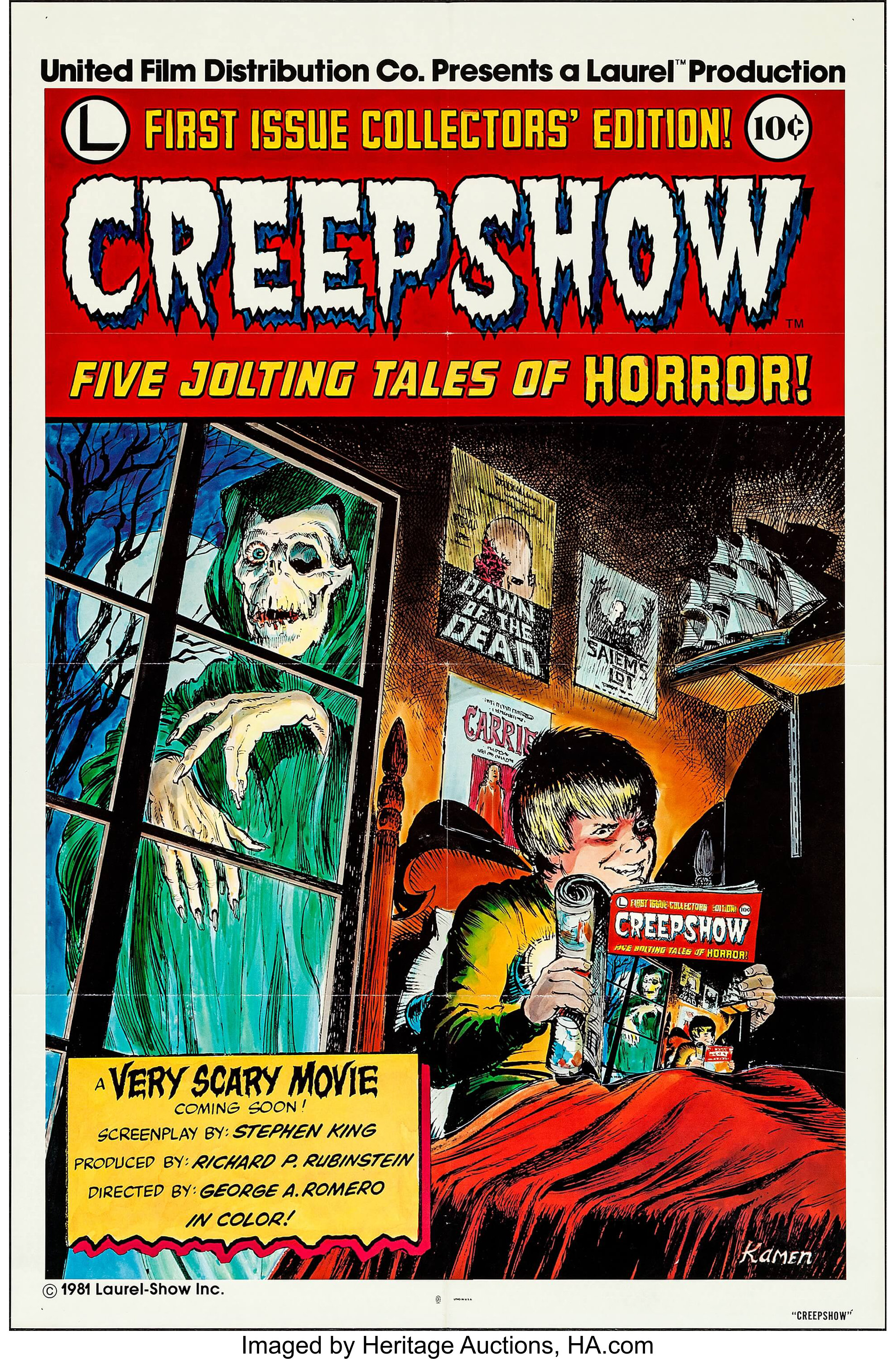Creepshow (United Film Distribution, 1982)  International