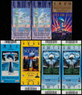 Football Collectibles:Tickets, 1993-2014 Super Bowl Tickets Lot of 7....