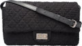"Luxury Accessories:Bags, Chanel Black Quilted Wool Reissue Flap Bag with Gunmetal Hardware.Excellent Condition. 12"" Width x 8"" Height x 3""Dep..."