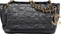 "Luxury Accessories:Bags, Chanel Black Quilted Patent Leather Puzzle Shoulder Bag with GoldHardware. Very Good to Excellent Condition. 11""Widt..."