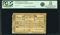 Colonial Notes:New Hampshire, New Hampshire November 3, 1775 10 Shillings Fr. NH-149. PCGS Fine15 Apparent.. ...
