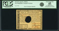 Colonial Notes:New Hampshire, State of New Hampshire April 29, 1780 $8 Fr. NH-185. PCGS ExtremelyFine 45 Apparent.. ...