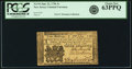 Colonial Notes:New Jersey, New Jersey June 22, 1756 3 Shillings Fr. NJ-94. PCGS Choice New63PPQ.. ...