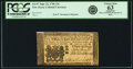 Colonial Notes:New Jersey, New Jersey June 22, 1756 15 Shillings Fr. NJ-97. PCGS Choice New 63Apparent.. ...