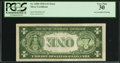 Error Notes:Inverted Reverses, Fr. 1608 $1 1935A Silver Certificate. PCGS Very Fine 30.. ...
